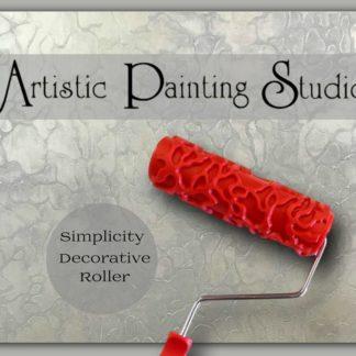 Dekorative Motivrollen by Artistic Painting Studio