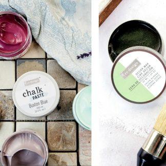 redesign Schablonen, Chalk Paste & Decor Wachs